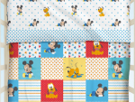 Trapunta con paracolpi Disney - Mickey Patch